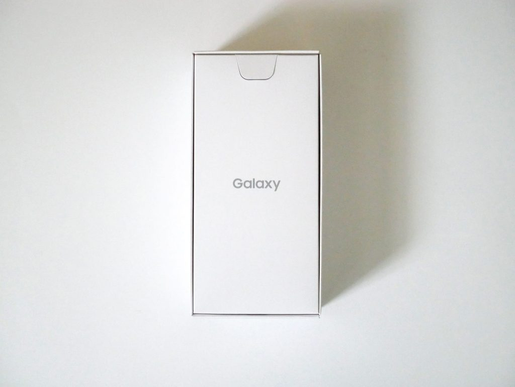 docomo Galaxy A20 SC-02Mの箱