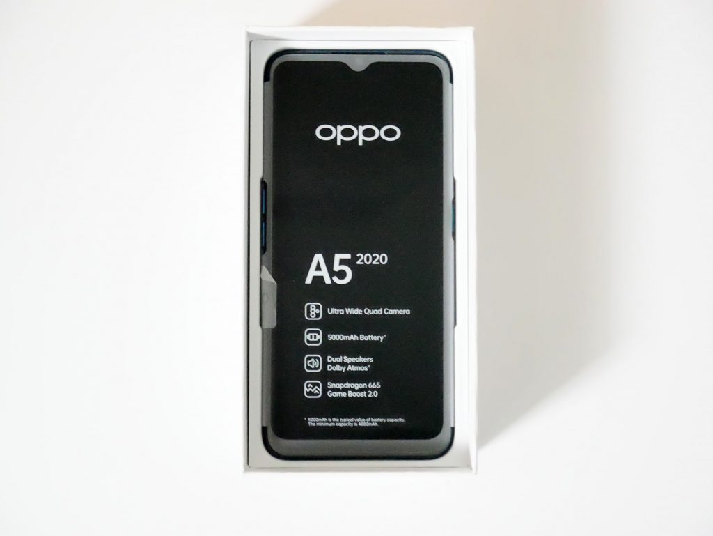 OPPO A5 2020 フィルム