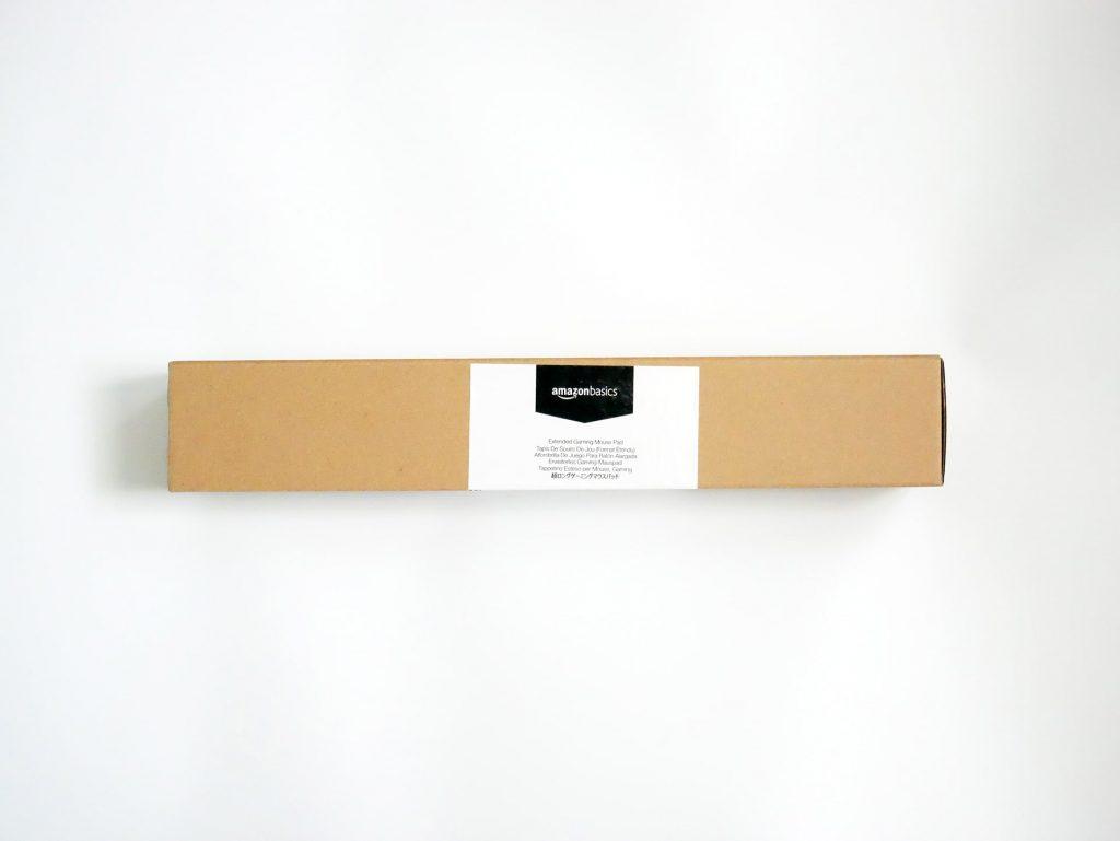 Amazonベーシック 拡張ゲーム用マウスパッド外箱