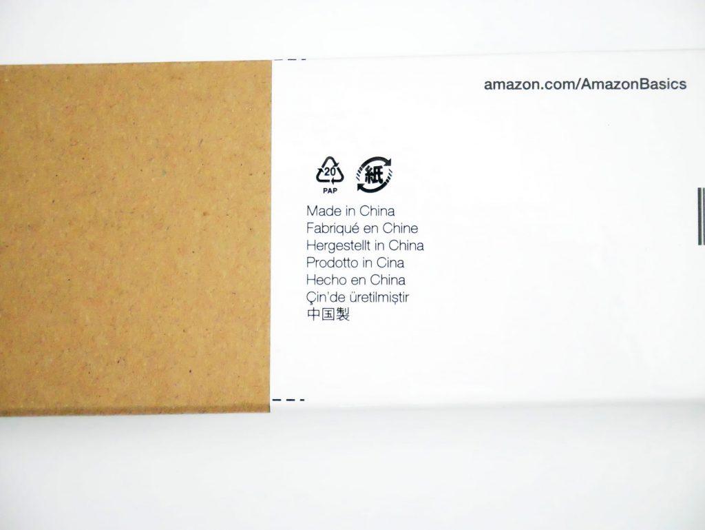 Amazonベーシック 拡張ゲーム用マウスパッド製造国 Made in China