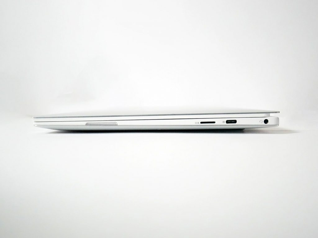 XPS13右側面端子