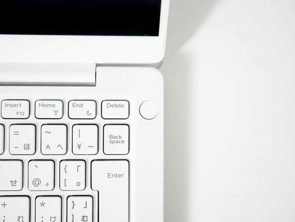 指紋認証・電源ボタン