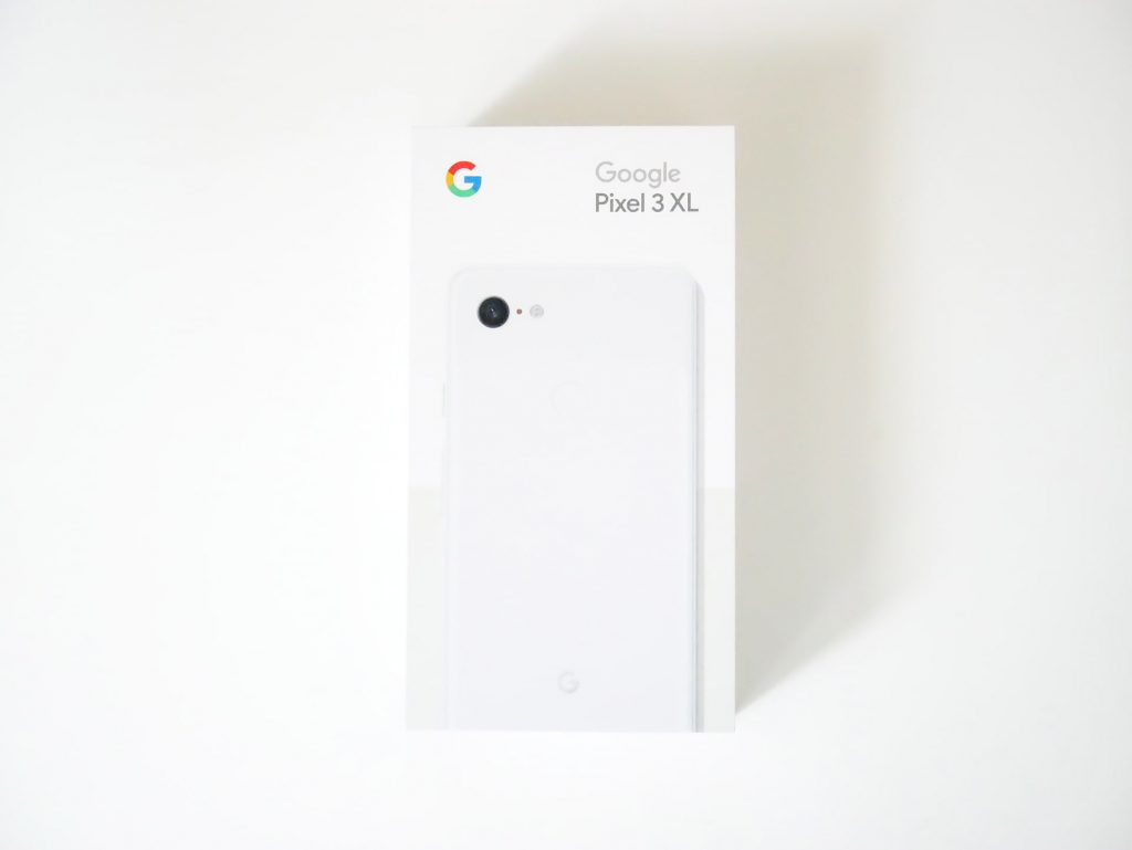 Google Pixel 3 XL外箱