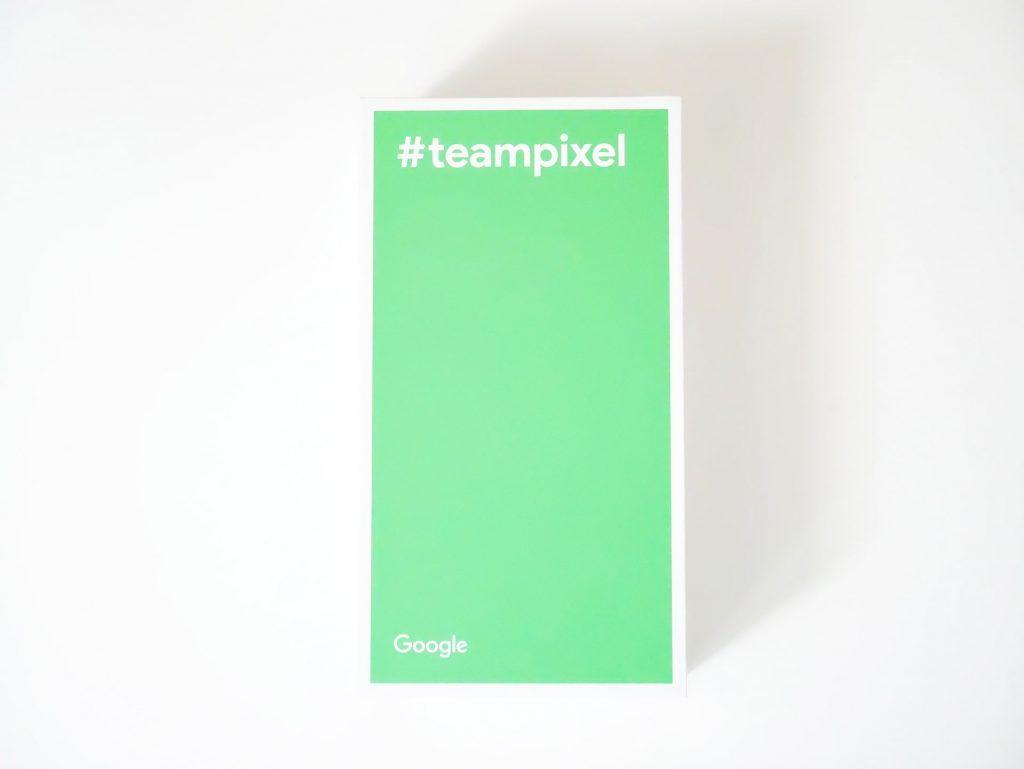 Google Pixel 3 XL外箱底面