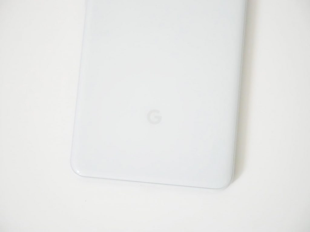 Google Pixel 3 XLグーグルロゴ