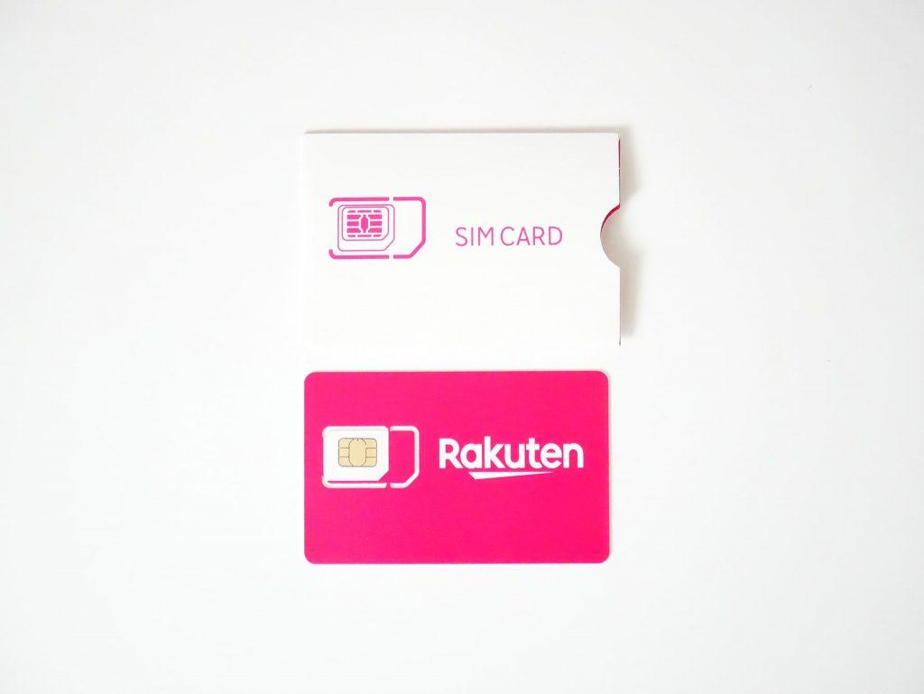 Rakuten UN-LIMIT SIMカード