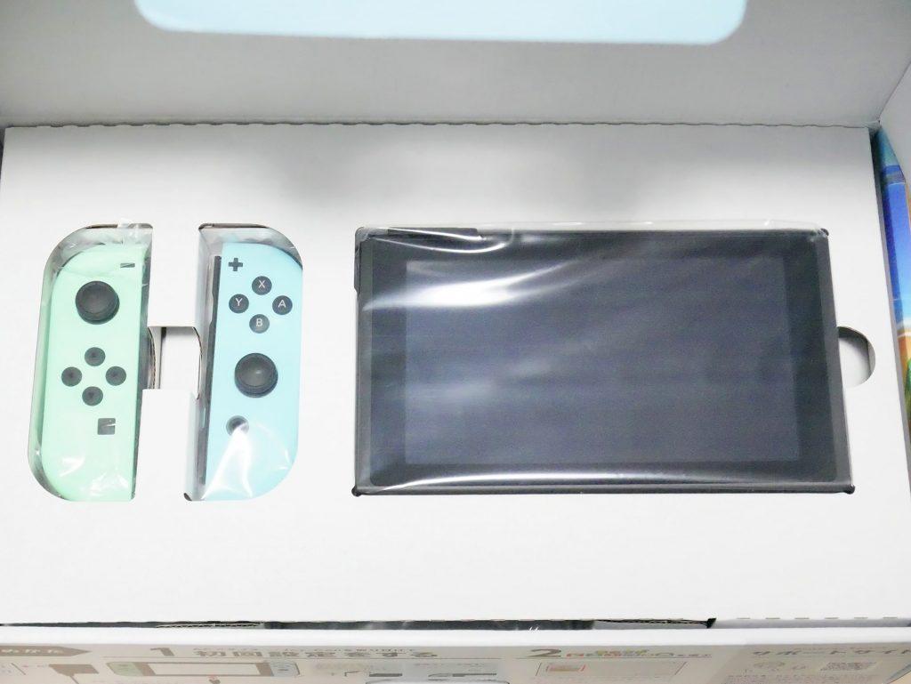 Nintendo Switch あつまれ どうぶつの森セット開封