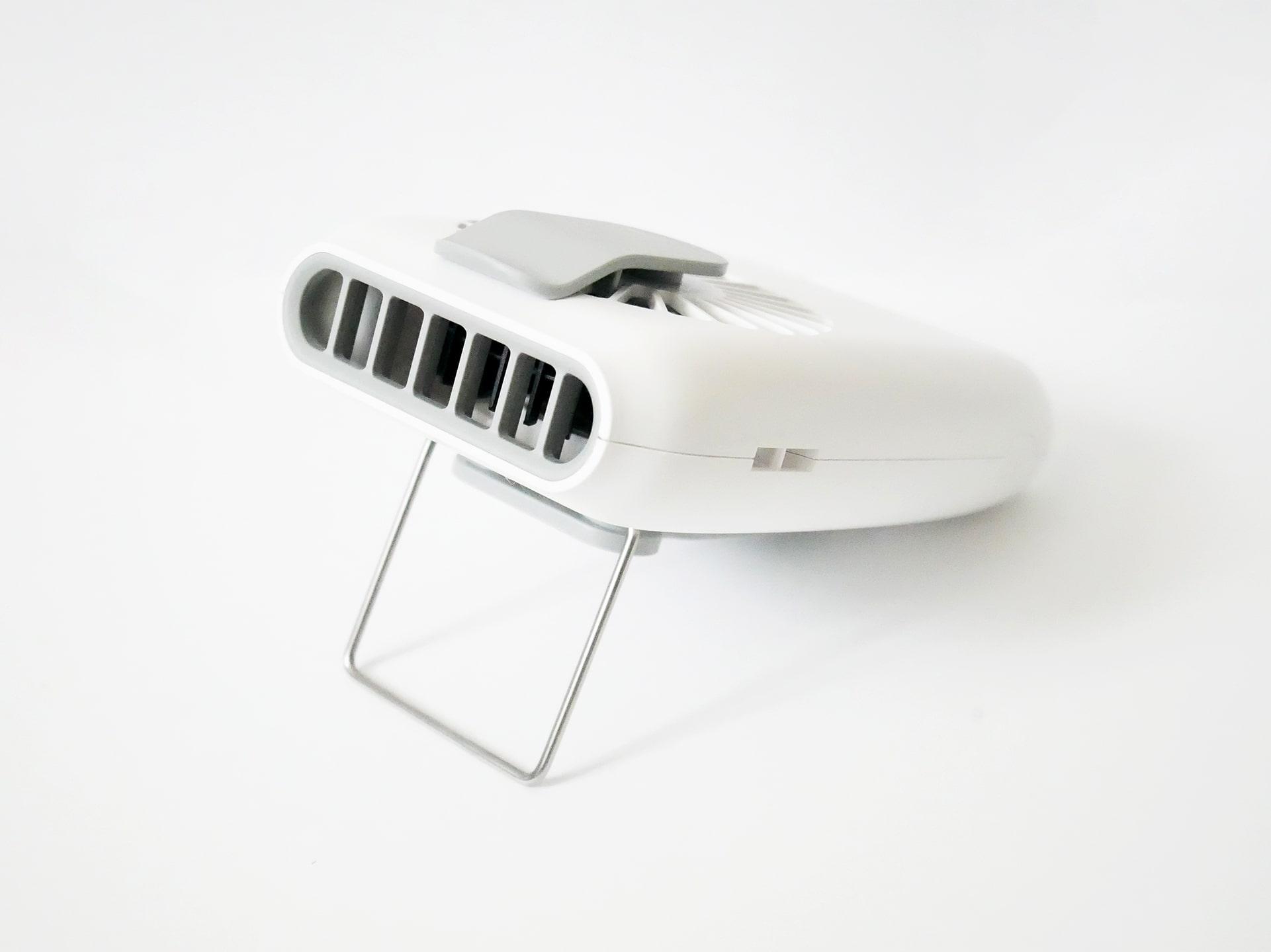 携帯扇風機 F22 送風口