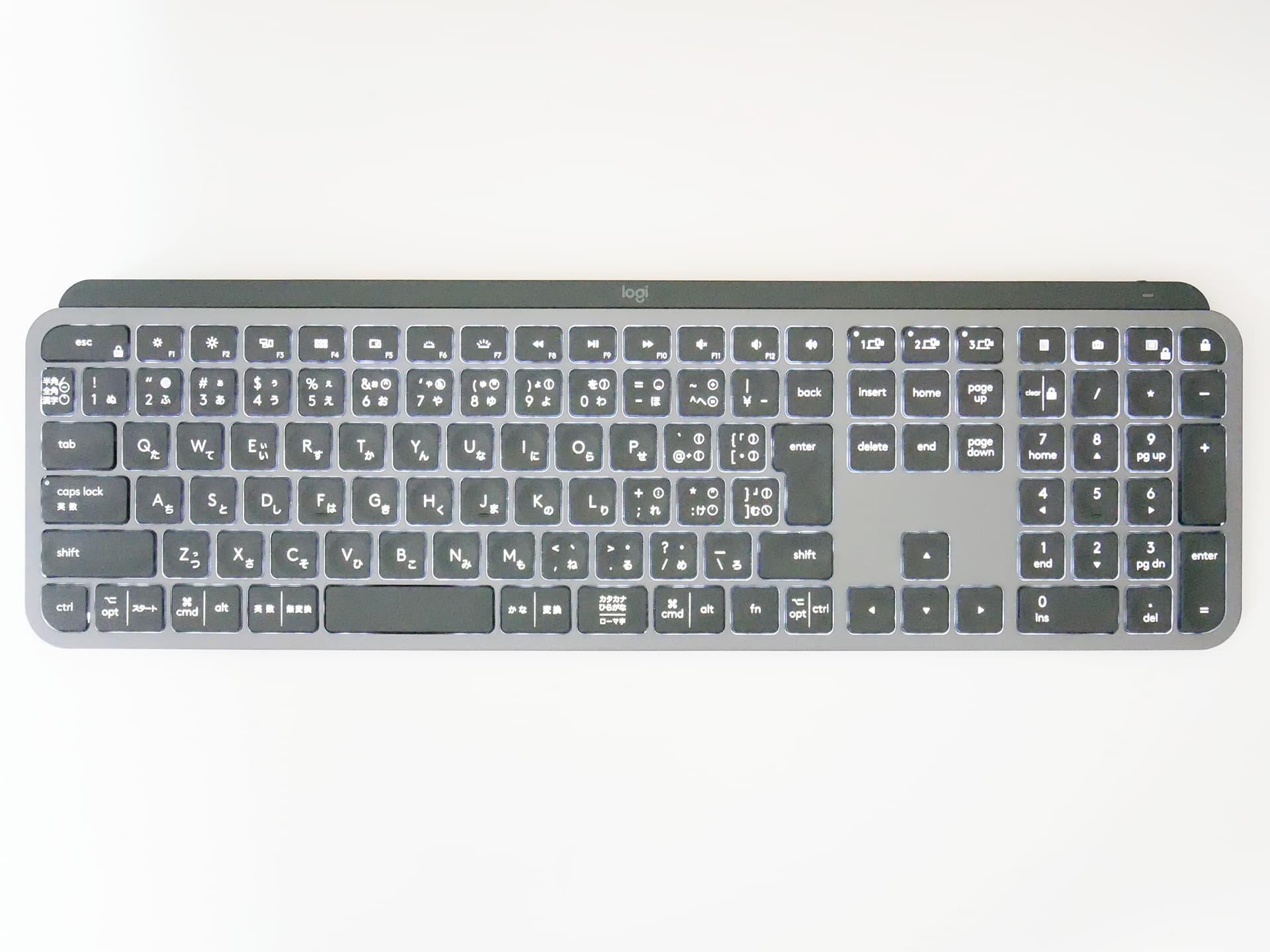万人におすすめできる薄型ワイヤレスキーボード Logicool MX KEYS - Fudangea ...