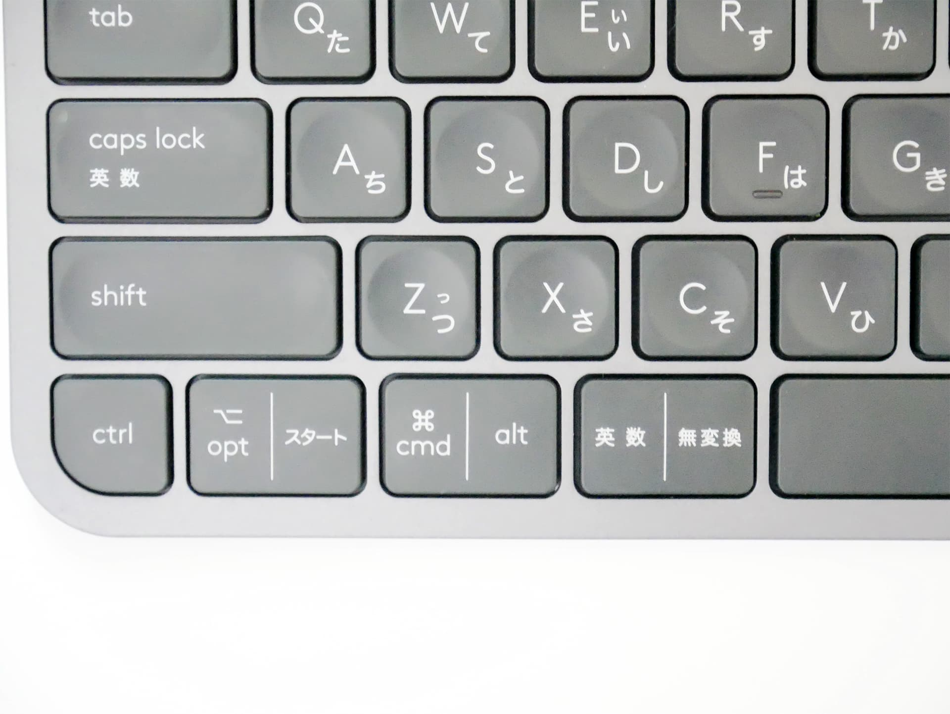 Logicool MX KEYS キーの印字
