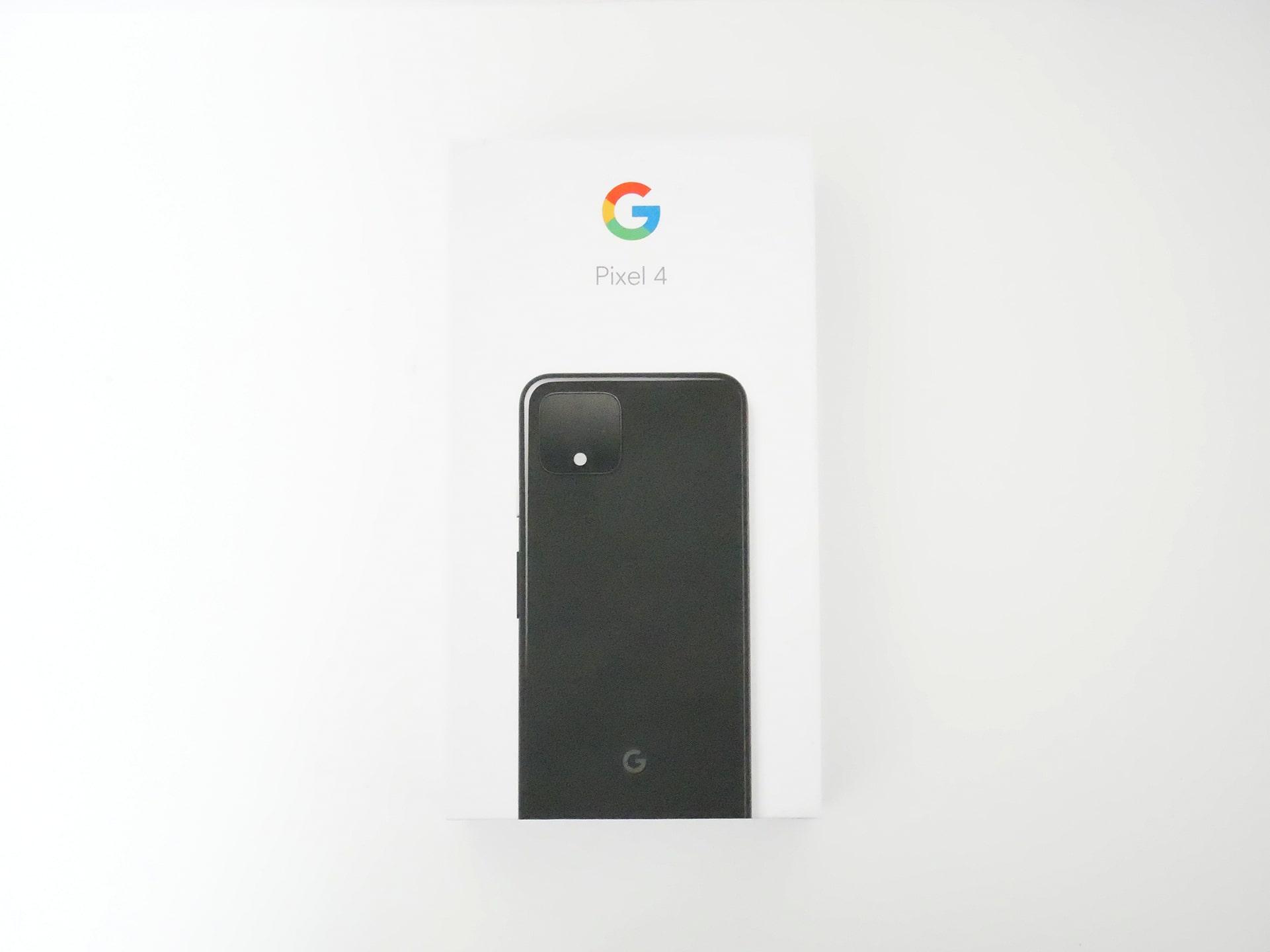 Pixel 4 パッケージ