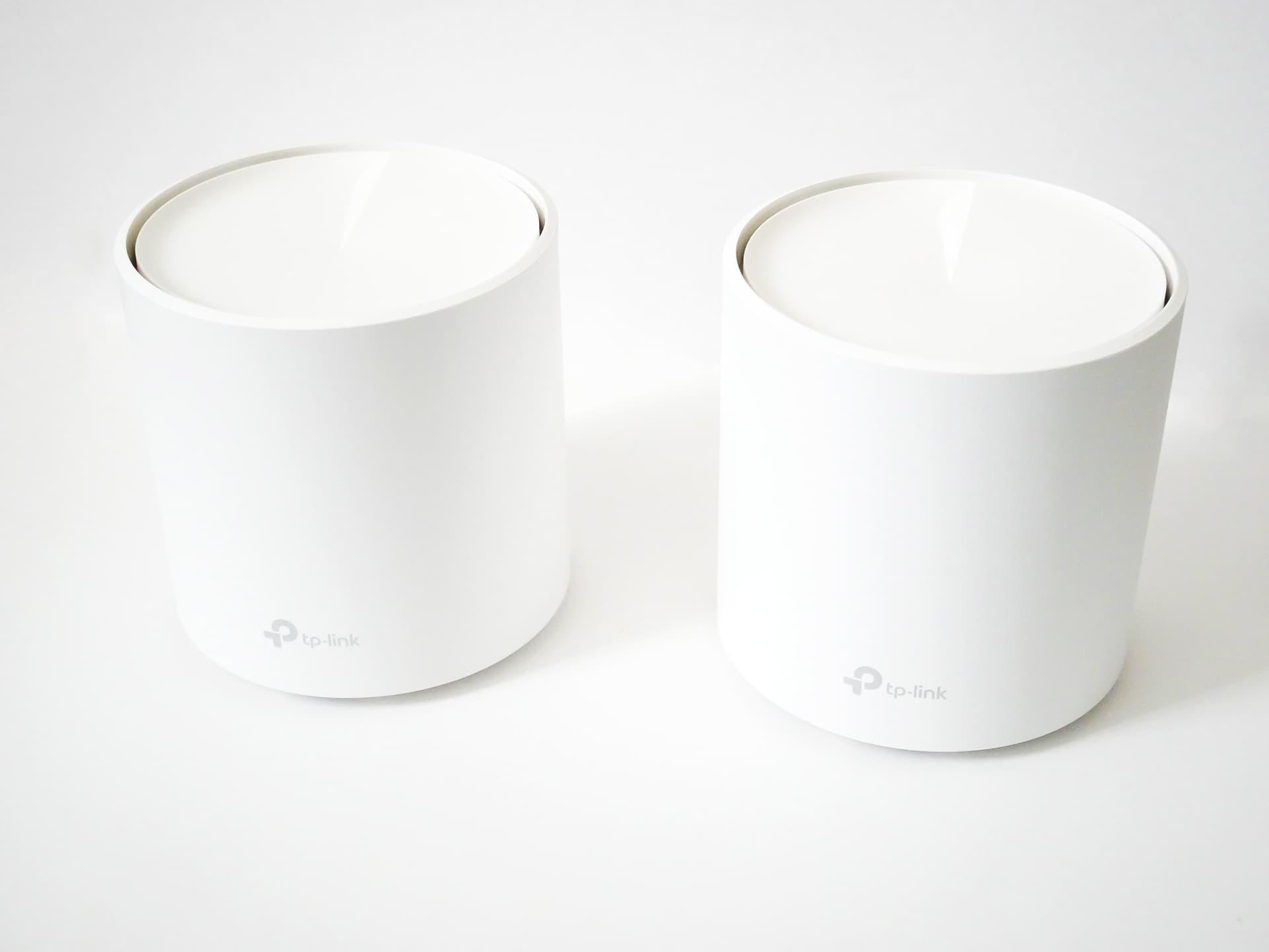 シンプルな外観&設定もかんたんなWi-Fi 6対応メッシュWi-Fiルーター TP-Link ...