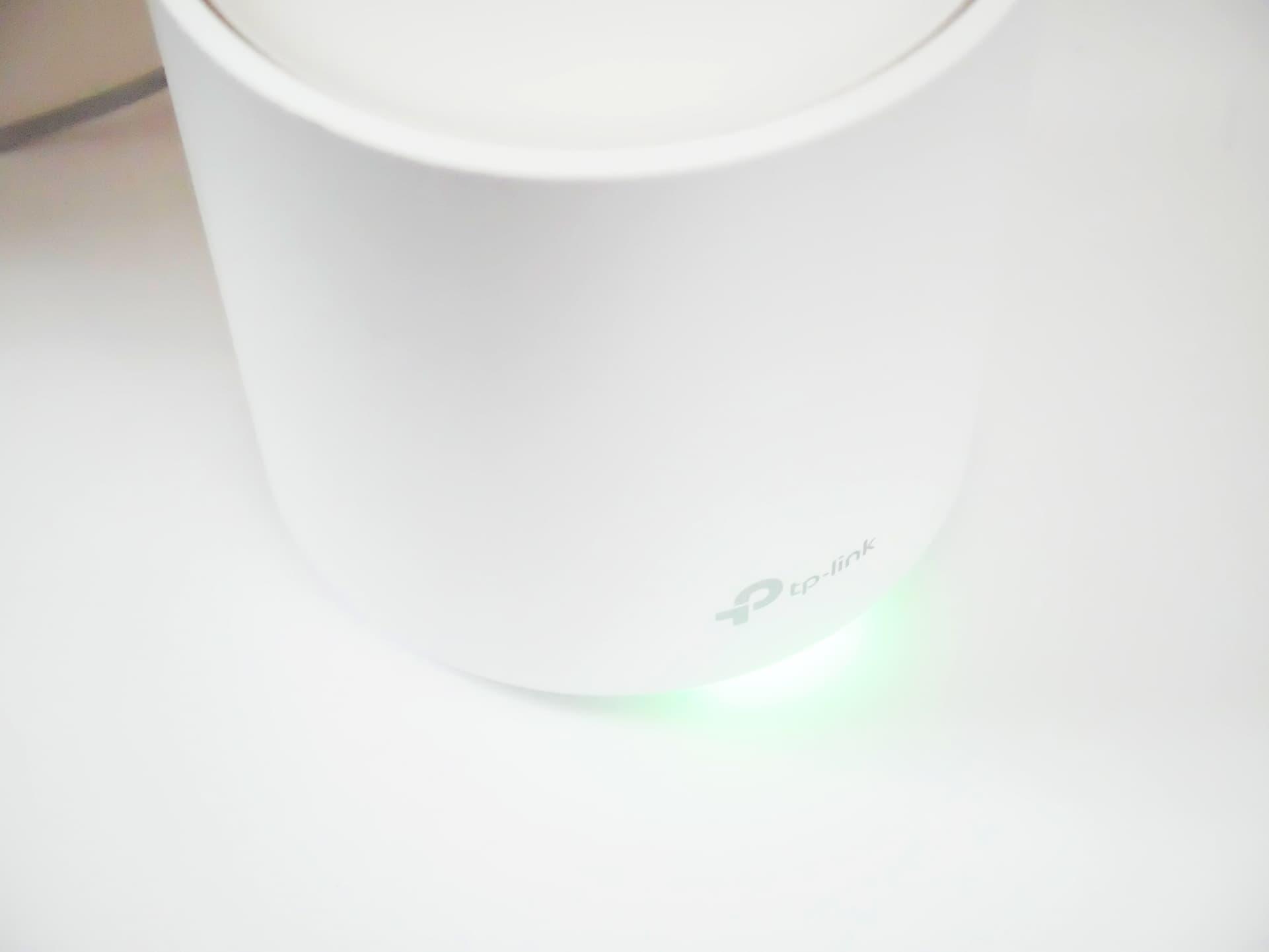 Deco X20 LED 緑点灯