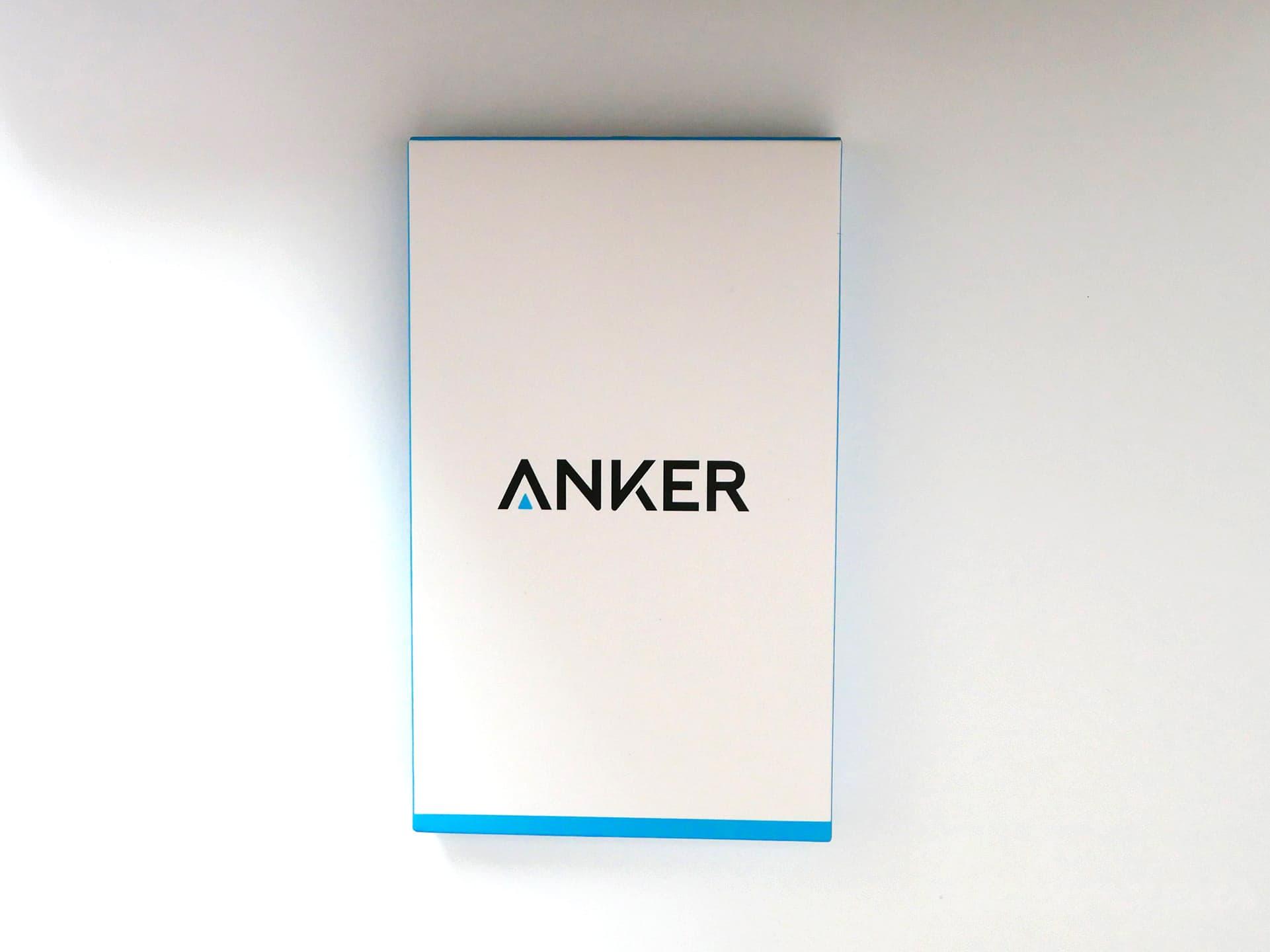 Anker「 Anker 4-Port Ultra-Slim USB 3.0 Hub(60cm ケーブル)」パッケージ