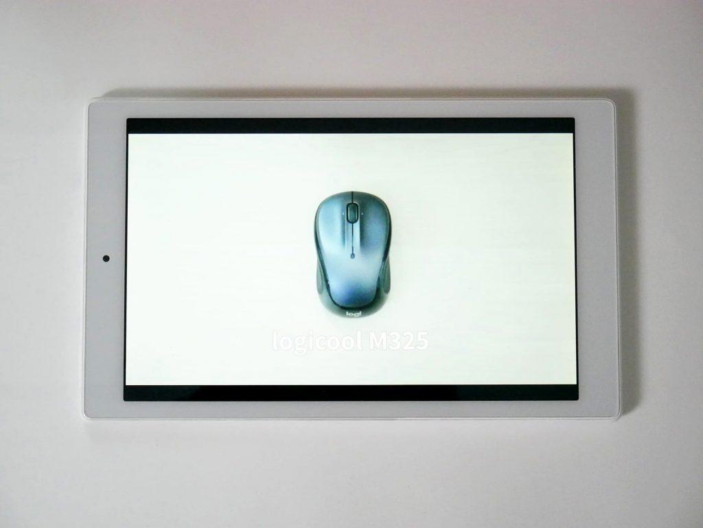 Fire HD 10 タブレット(第9世代)動画を視聴している状態