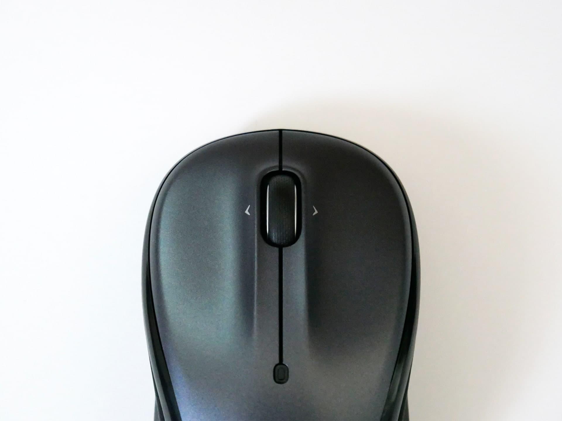 ロジクール「M325」ワイヤレスマウスのホイール