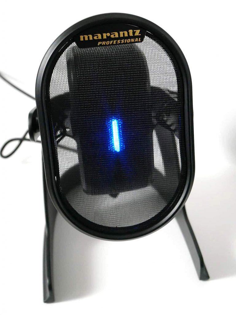 青いライト点灯時のMarantz Pro Umpire