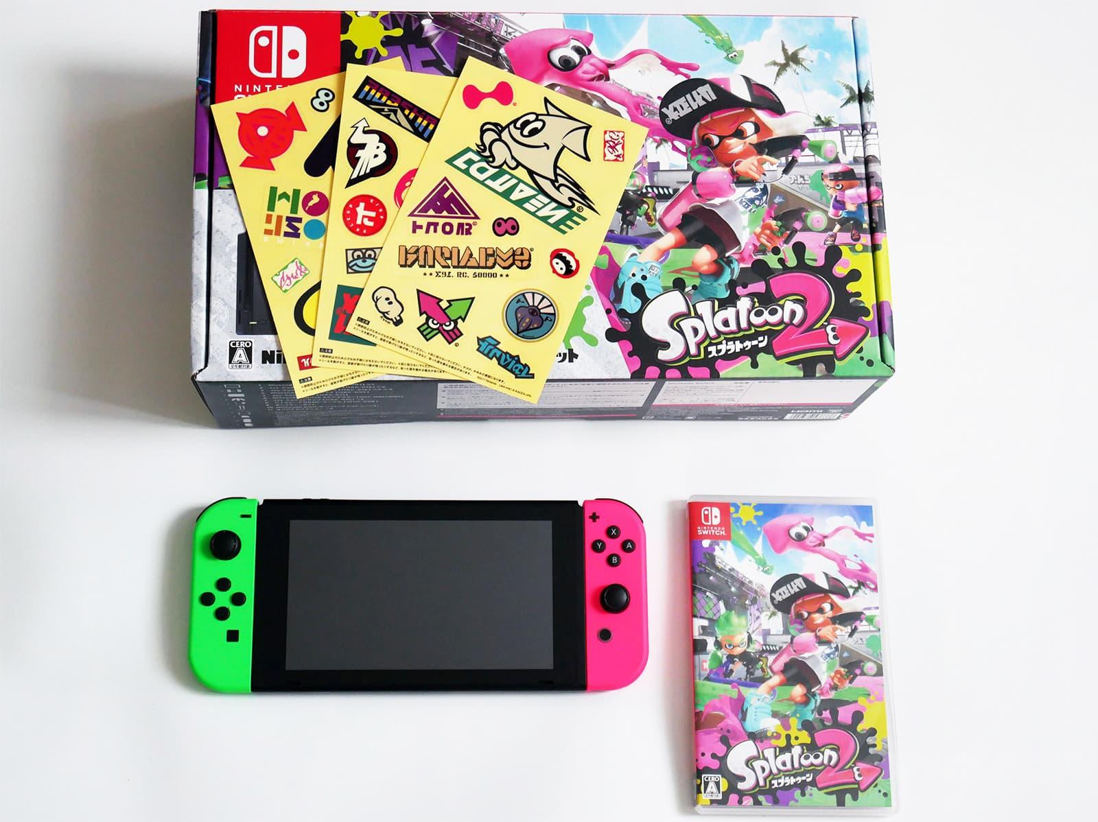 Nintendo Switch スプラトゥーン2セット同梱物