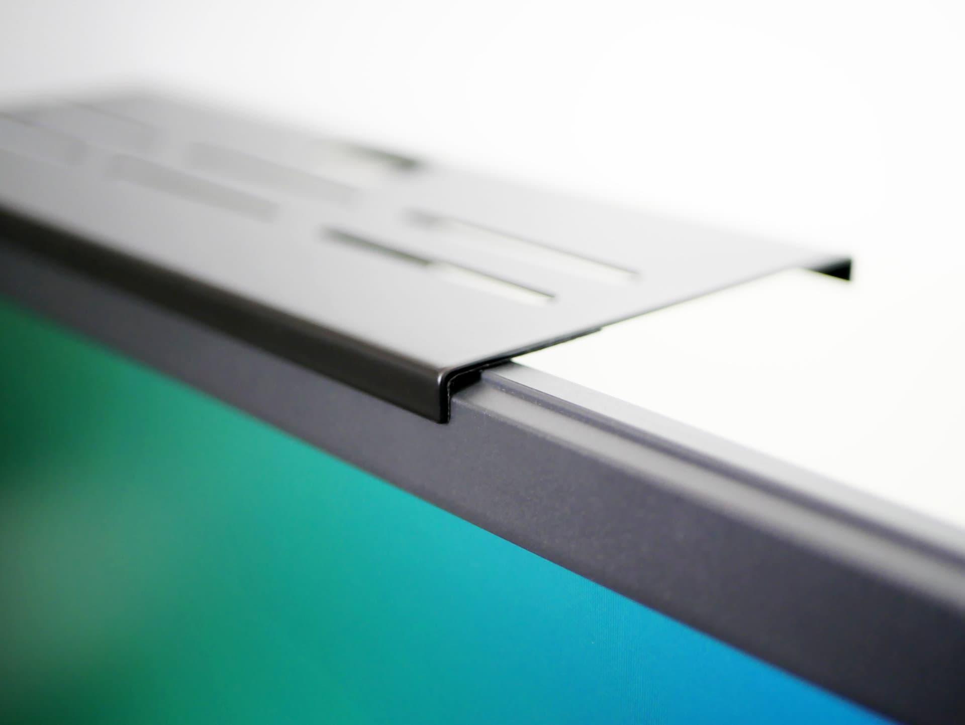 ELECOM ディスプレイボードをディスプレイ上部に引っかける