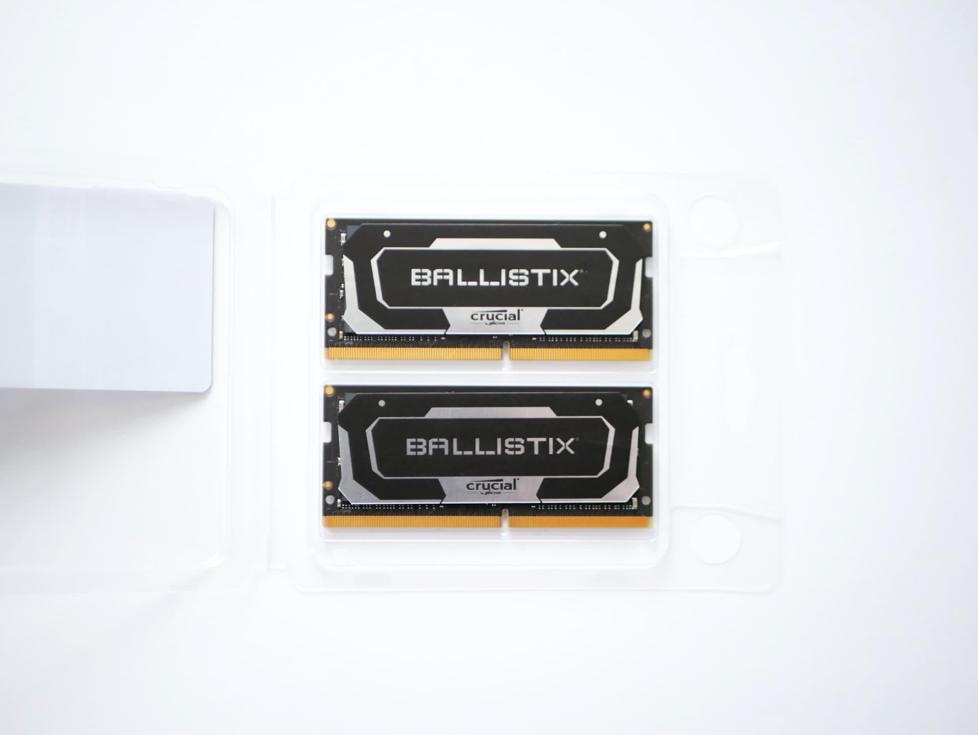Crucial Ballistix SODIMM 32GB×2枚組