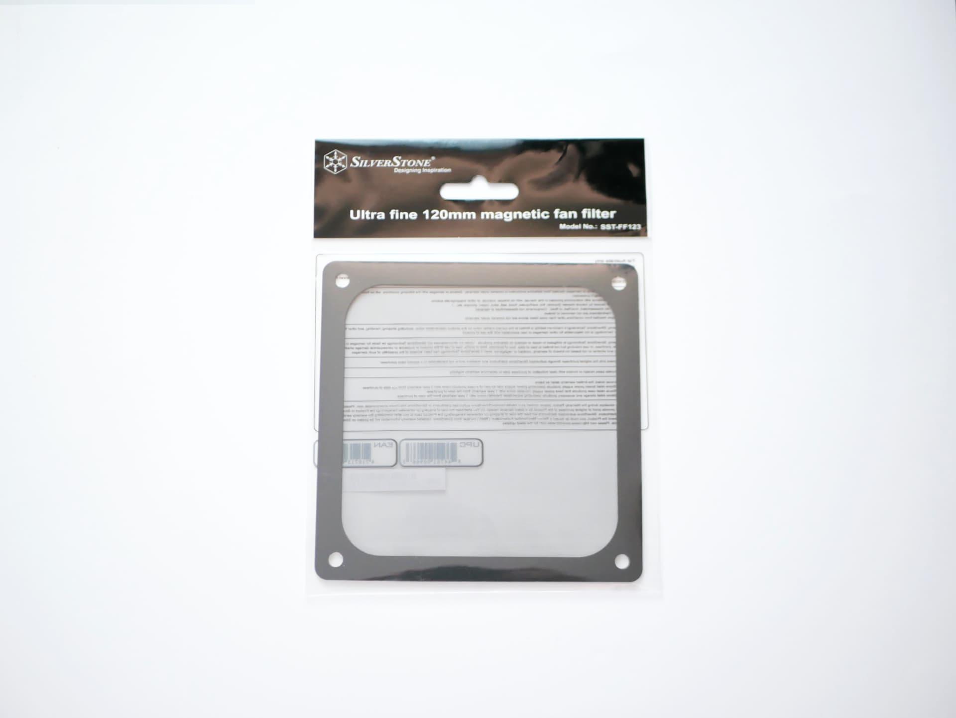 SilverStone ファンフィルター 12cm SST-FF123